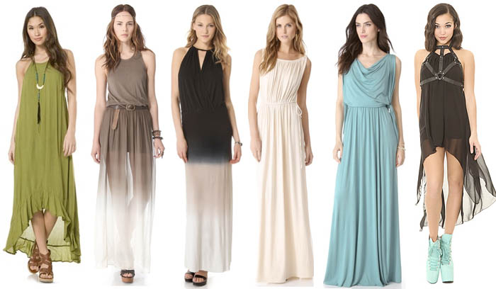 Chiffon Maxi Long Dress