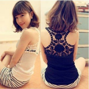 Lace Sleeveless Vest