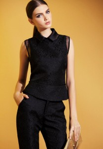 Halterneck Sleeveless Blouse