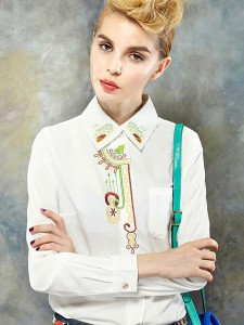 Printing Embroidery Blouses