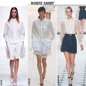 Embroidery White Blouses