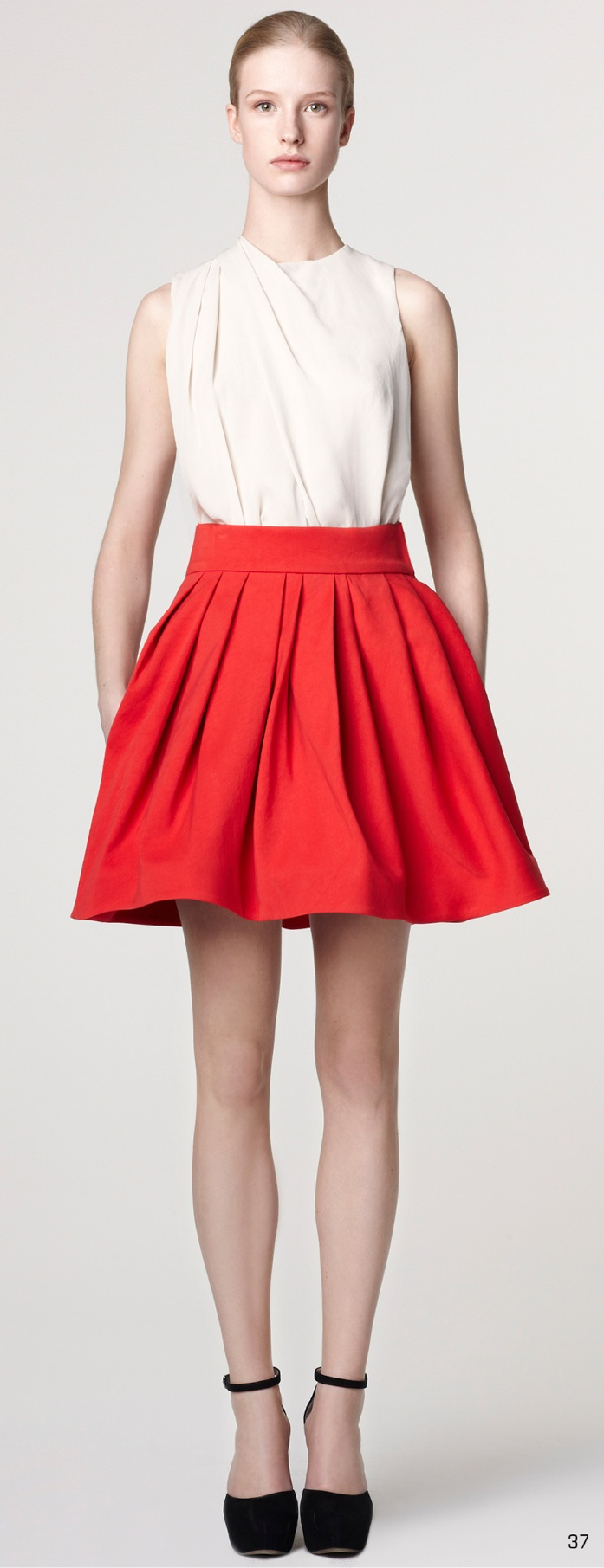 Pure Color Skirts