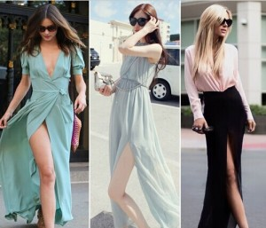 High Side Slit Dress