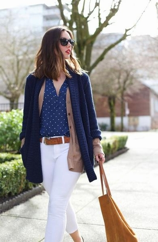 Casual Long Sleeve Cardigan