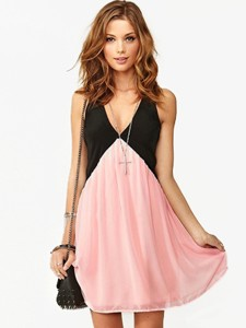 Hollow Out Vest Dress