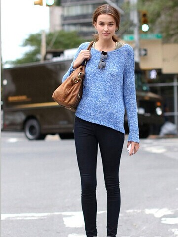 Casual Pullover Wool Sweater