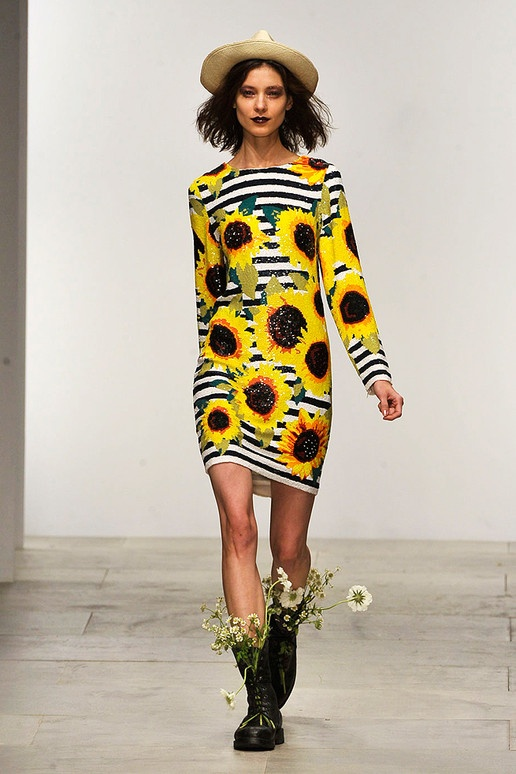 Sunflower A-line Skirt
