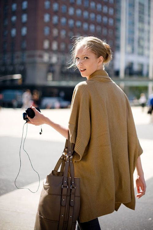 Fashion Casual Loose Cloak