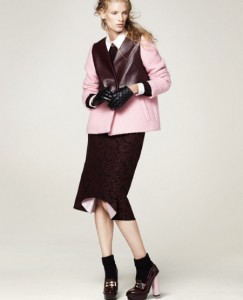 Lapel Fur Thicken Coat