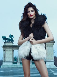 Fashion Casual Fur Jacket