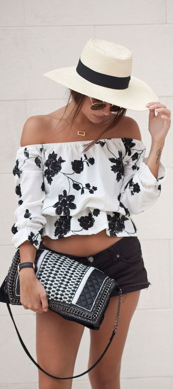 Fashion Sexy Short Blouse