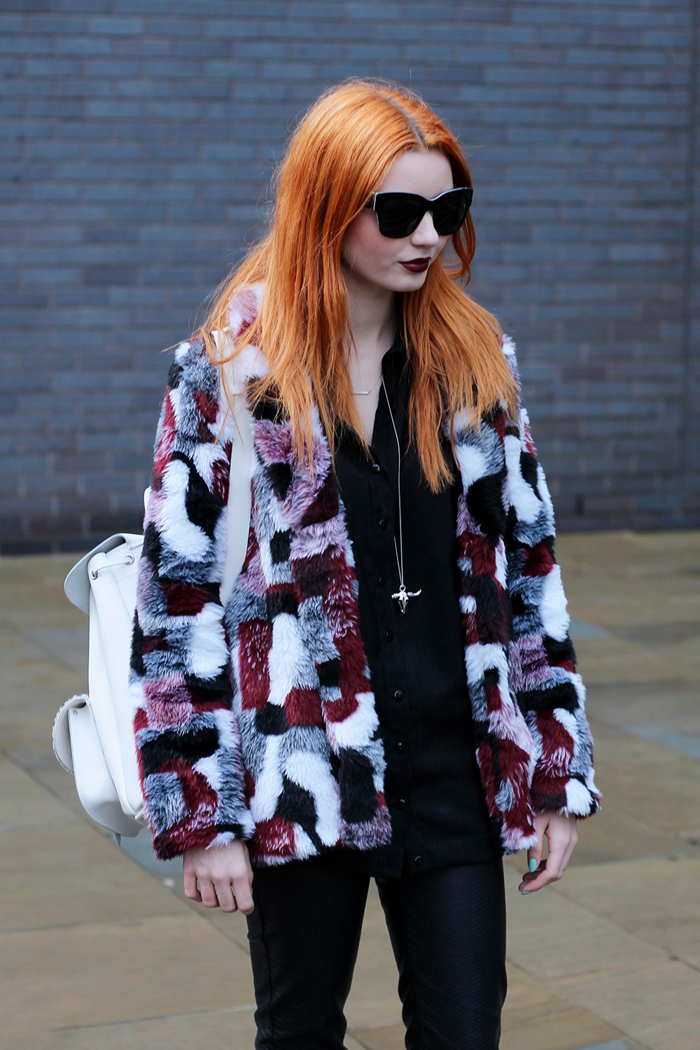 Faux Fur Thicken Coat