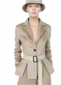 Upscale Slim Long Coat