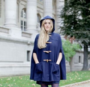 Women Horn Button Coat