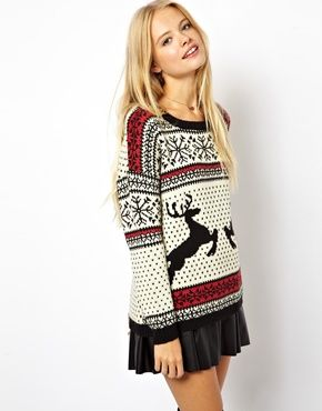 Fashion Christmas Deer Sweater