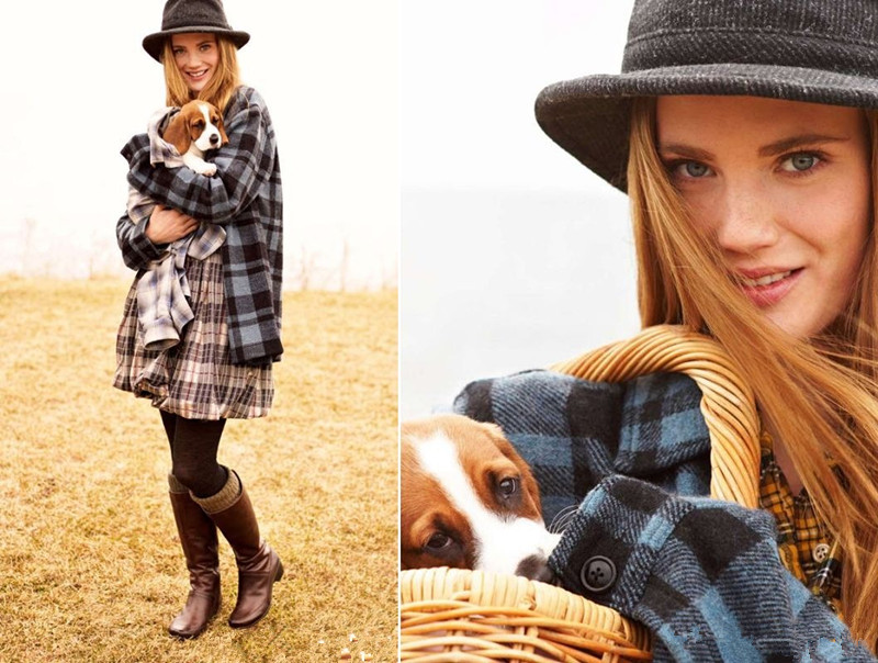 Women Casual Plaid Blouse