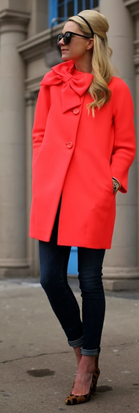 Lapel Woolen Trench Coat