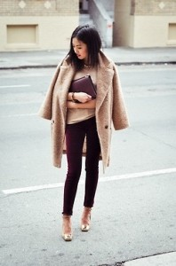Oversized Crochet Trench Coat