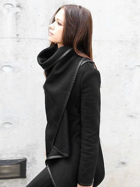 Women Trench Woolen Coat