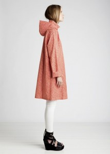 Hooded Large Size Coat