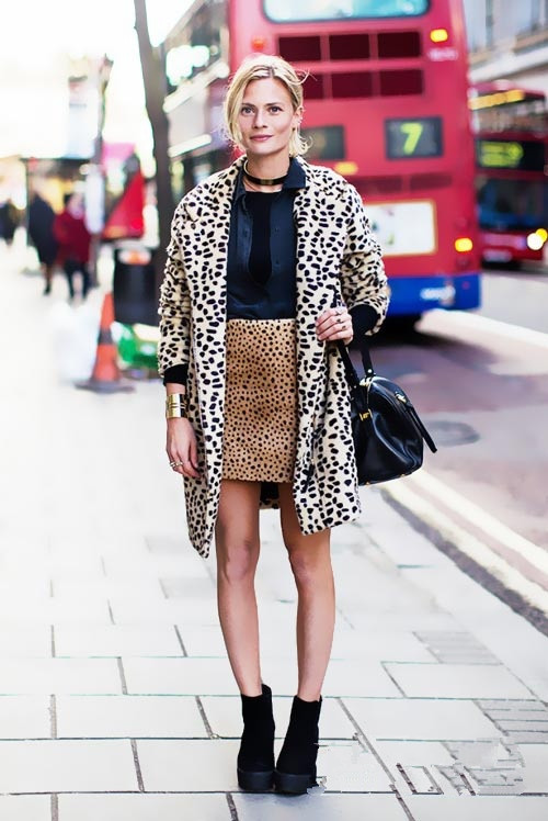 leopard fashion