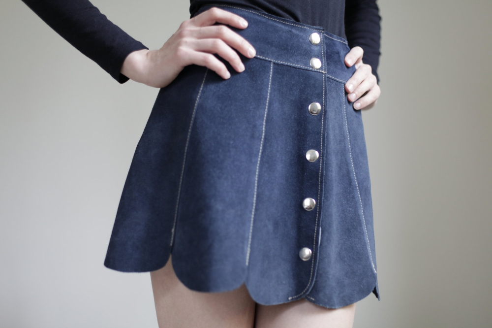 Button-Front Skirts
