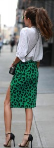 colorful leopard fashion