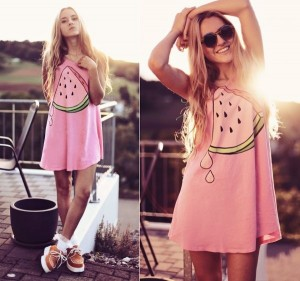 watermelon print fashion