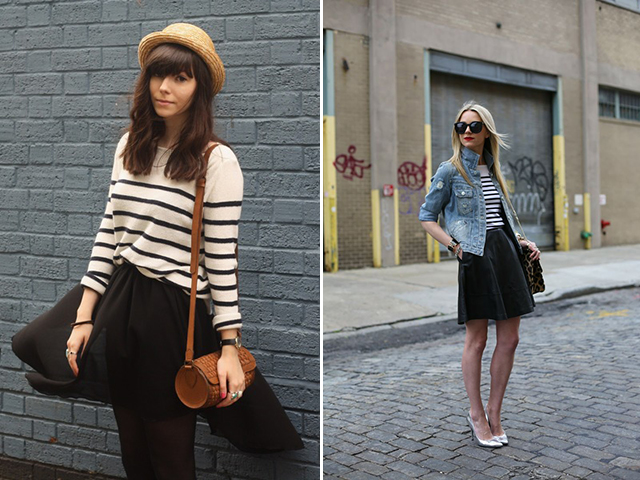 striped tops