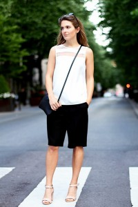 women Bermuda shorts