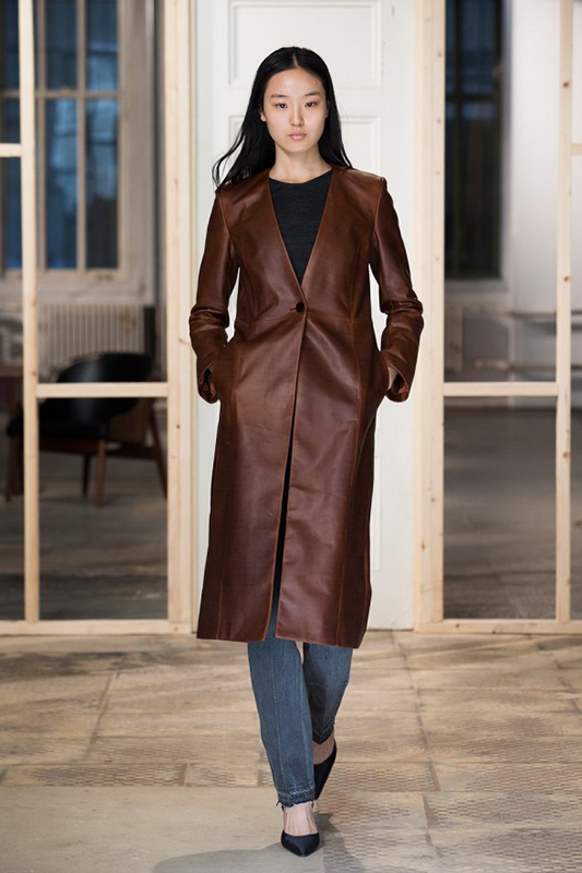 leather coats collection