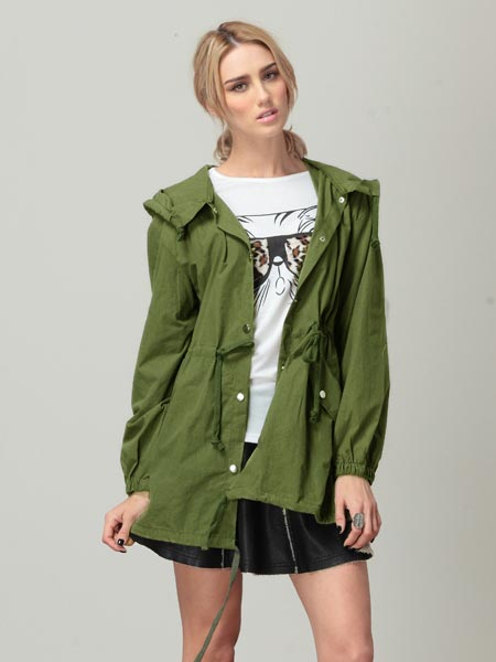 Fashion Skull Windbreaker