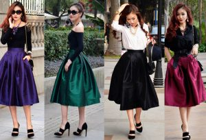 cheap a line skirts
