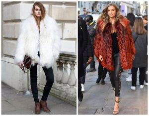 Women Faux Fur Coat
