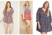 plus size bohemian dresses